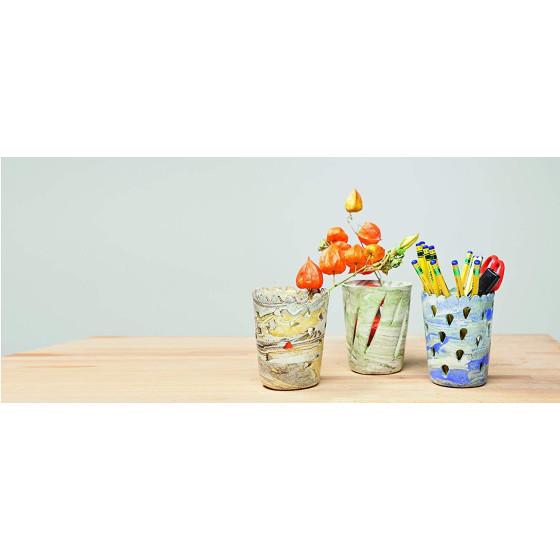 Das 342004 Idea mix - Pasta Marmorizzante - Verde serpentino - 100gr - 2 pz Originale - 5
