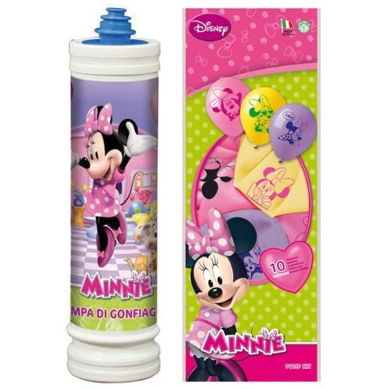 Disney Kit 10 Palloncini e Pompa Minnie Siad - 2