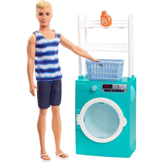 Lavanderia di Ken FYK52 Mattel - 1