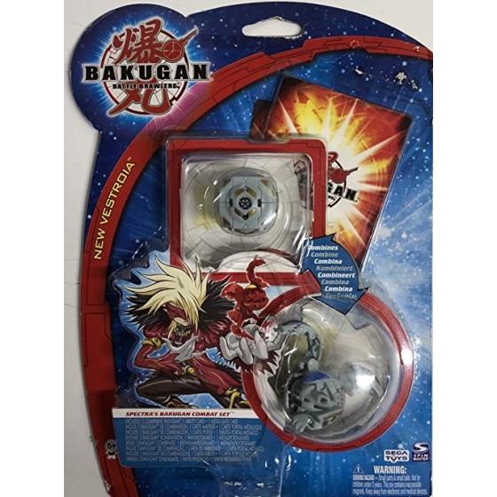 Spin Master Bakugan: Battle Brawlers Bakugan Battle Combat Set Serie 2 Set di Spectra Originale - 1