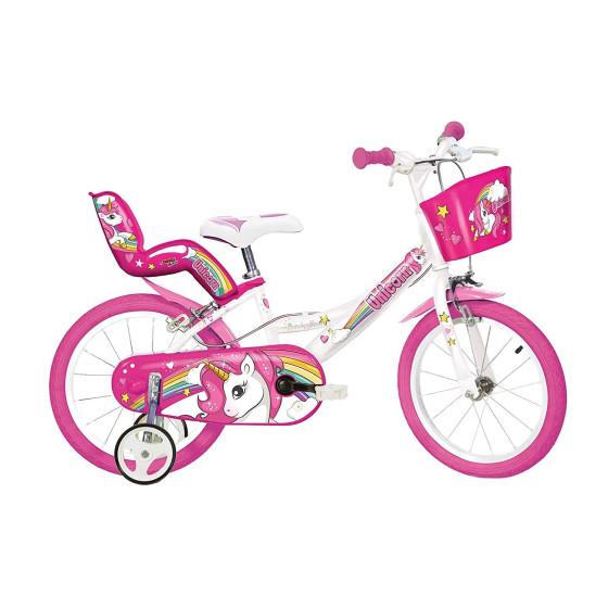 """Bicicletta Unicorno 14\"""" Dino Bikes - 1"""