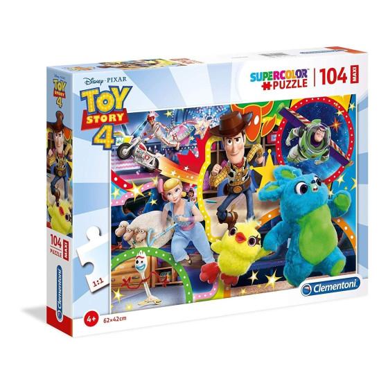 Puzzle Supercolor 104 Pezzi Toy Story 23740 Clementoni - 1