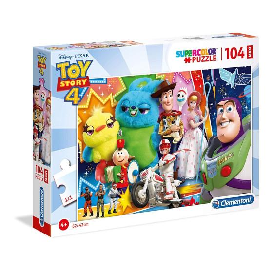 Puzzle Supercolor 104 Pezzi Toy Story 23741 Clementoni - 1
