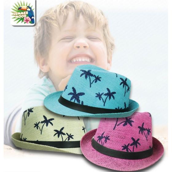 Mood SM185 - Cappello Panama Palm Boy - Colori Ass Mood - 1