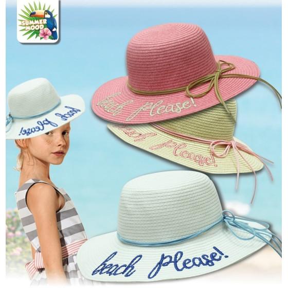 Cappello Mare Estate Beach Please Bambina SM179 Colori Assortiti Mood - 1
