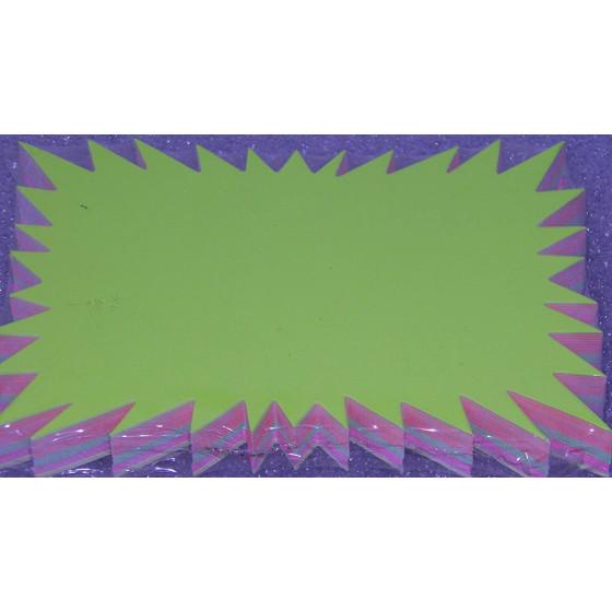 Segnaprezzi in cartoncino colori Fluo Formato Medio 50 pezzi Picarta Fabrianese - 1
