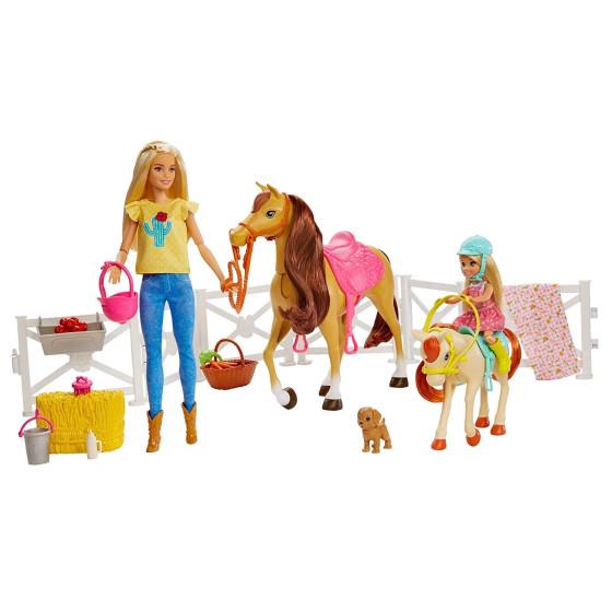 Ranch di Barbie e Chelsea FXH15 Mattel - 3