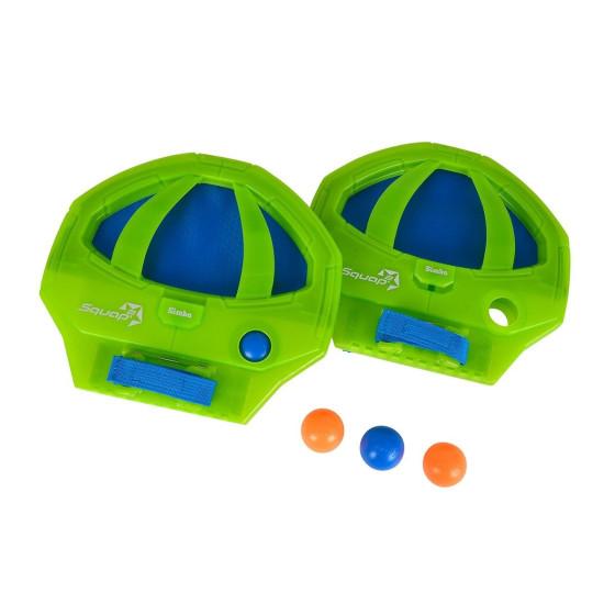 Squap 2 Racchette con 4 palline Colori Assortiti Simbatoys - 7