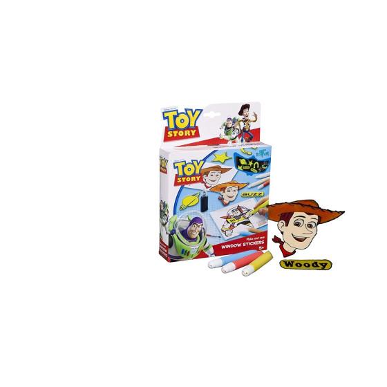 Toy Story Colori Crea i tuoi Adesivi Fluo per finestre Tm Essentials BV - 1