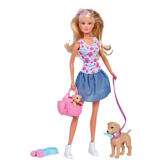Steffi con Cani Simba - 1