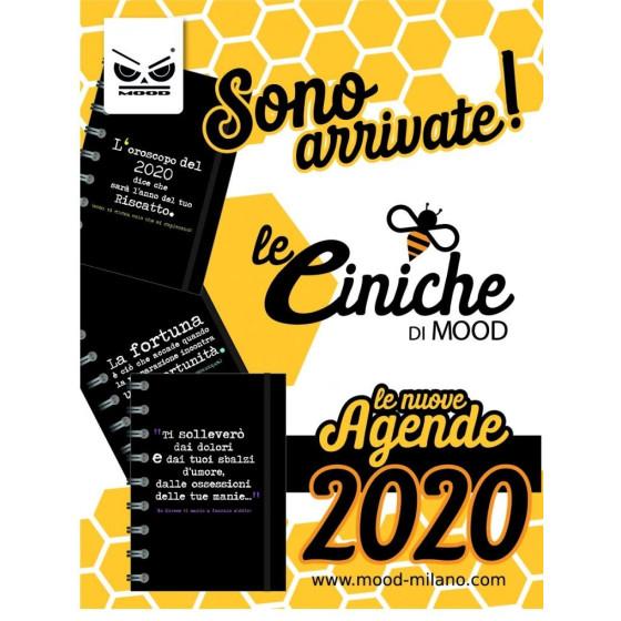 Mood CB014 - Le Ciniche di Mood Agende 2020 - assortite - Mis. L Mood - 1