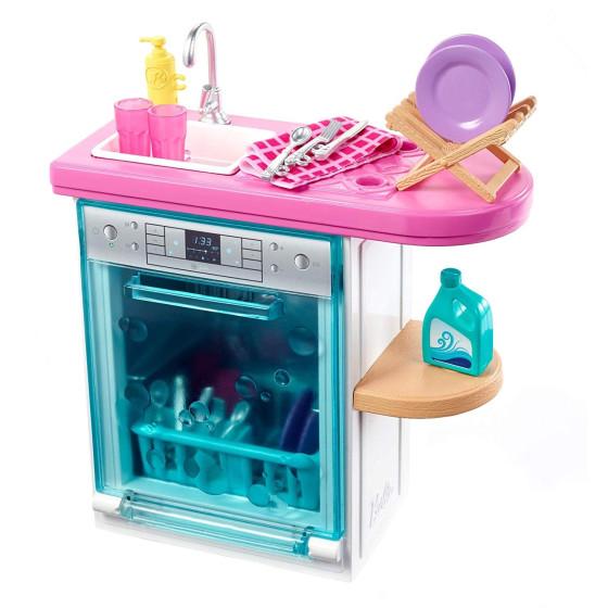 Barbie FXG35 Playset Lavastoviglie Mattel - 6