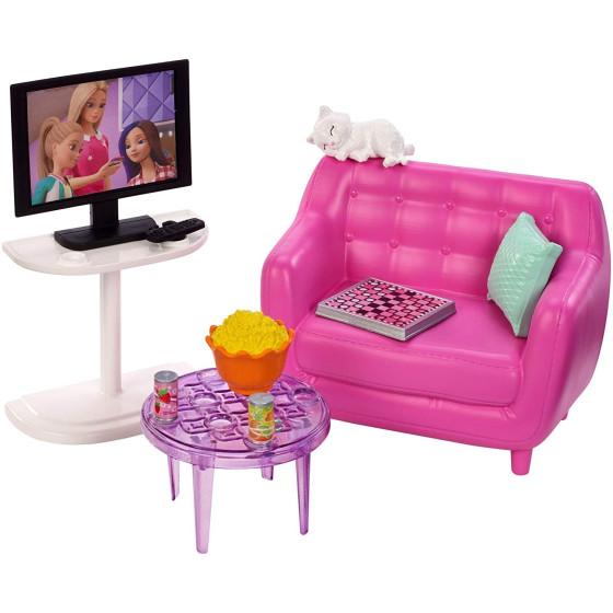 Barbie FXG36 Playset Soggiorno Mattel - 5