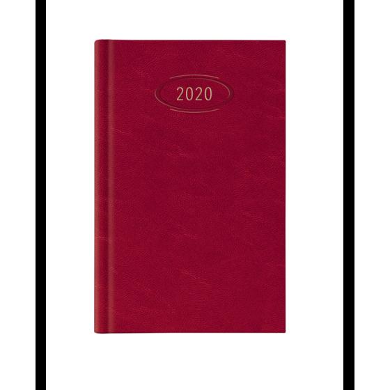Agenda Settimanale Rosso NotaBene Madrid 2020 - 17x24 cm NotaBene - 1