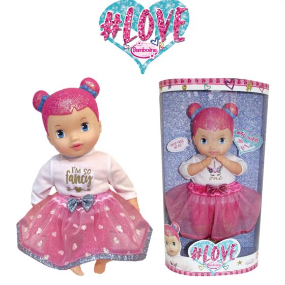 Bambolina Love 46cm Bambola interattiva 50 parole - Bambina  Rocco Giocattoli - 2