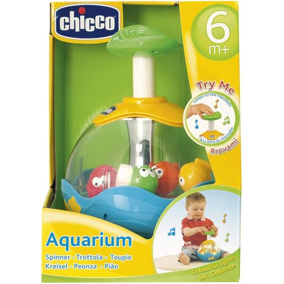 Trottola bambino acquario elettronica con luci e suoni Chicco - 3