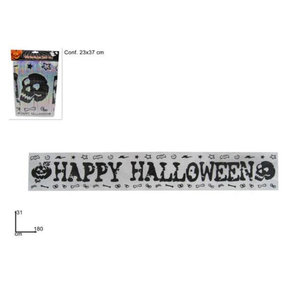 Festone 180cm Happy halloween Due Esse Distribuzioni - 1