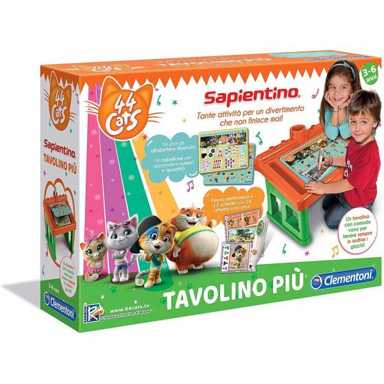 Sapientino Tavolino Attività Più 44 Gatti Clementoni - 3