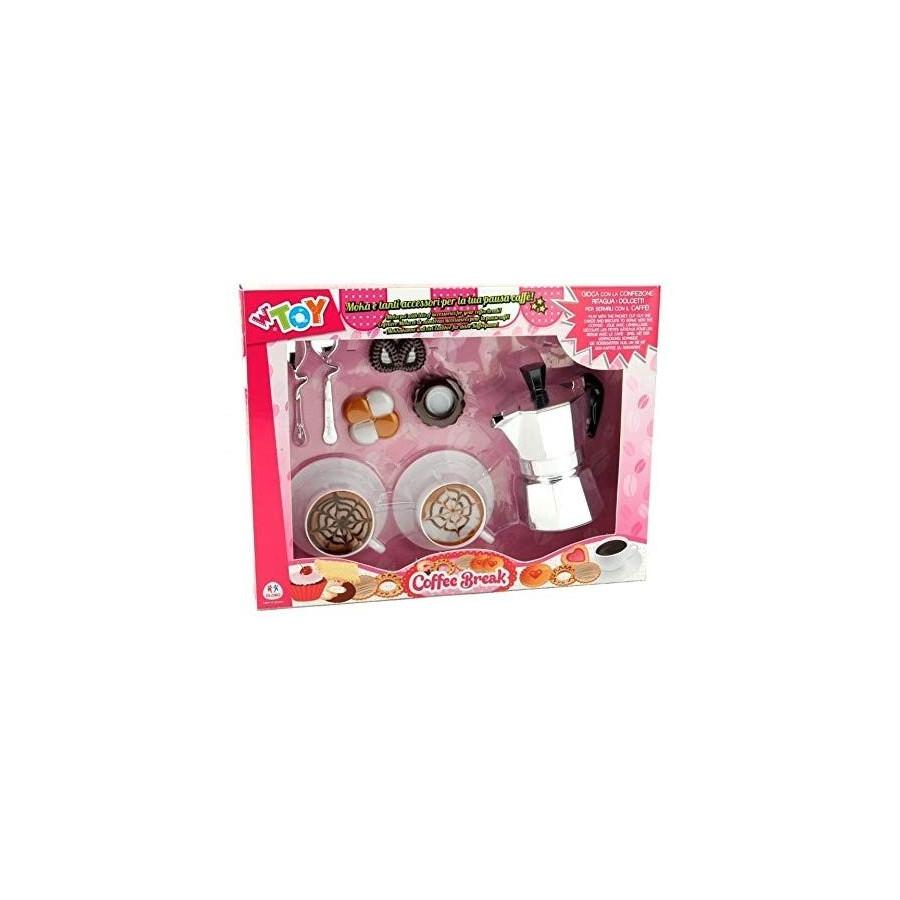 Set Coffe Break Caffè Moka 25x32cm con tazzine biscotti e posate Globo - 1