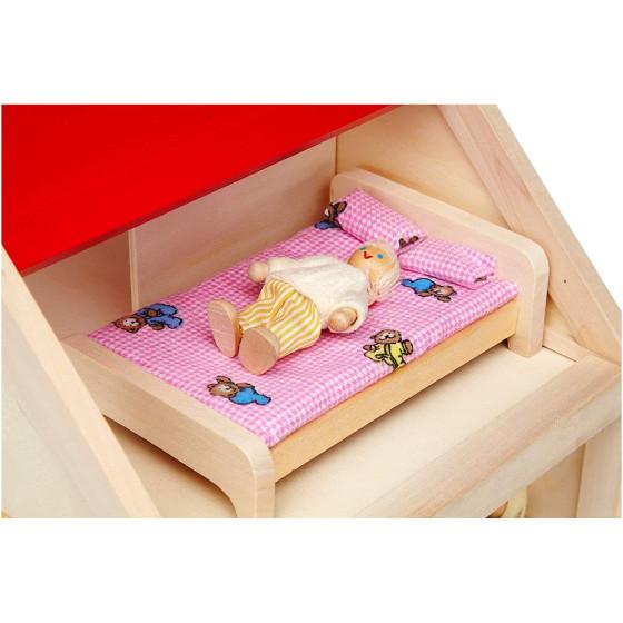 Betty Casa dolce casa in legno Globo - 1
