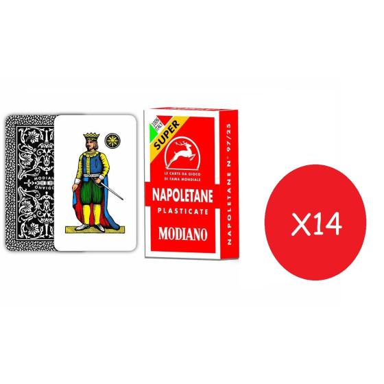 Modiano Carte Napoletane 14 Pezzi Originale - 1