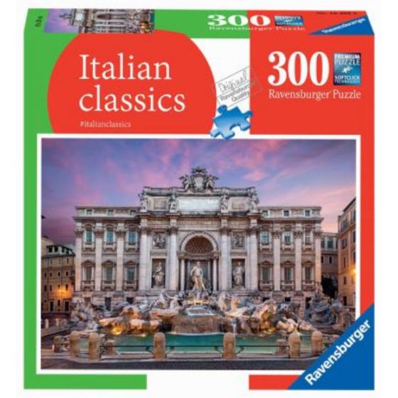Puzzle Italia Souvenir 300 Pz Fontana di Trevi 16403 Ravensburger - 1