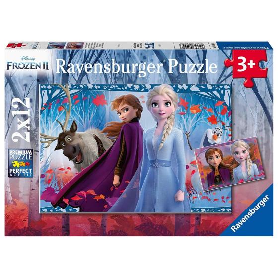 Puzzle Disney Frozen 2 il segreto di arendelle 2x12 Ravensburger - 4