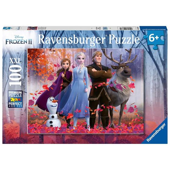 Puzzle Disney Frozen 2 Il Segreto Di Arendelle 100 Pezzi XXL 12867 Ravensburger - 2