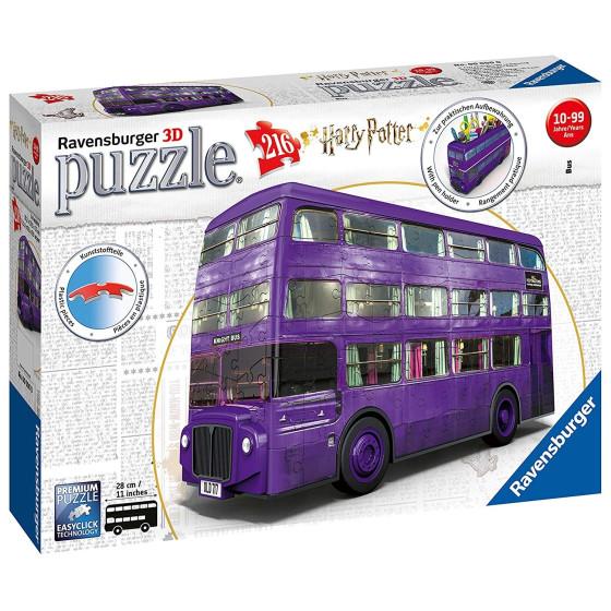 Puzzle 3D London Bus Harry Potter 216 Pezzi 11158 Ravensburger - 8