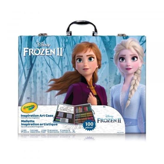 Valigetta dell'artista Disney Frozen 2 Crayola - 1