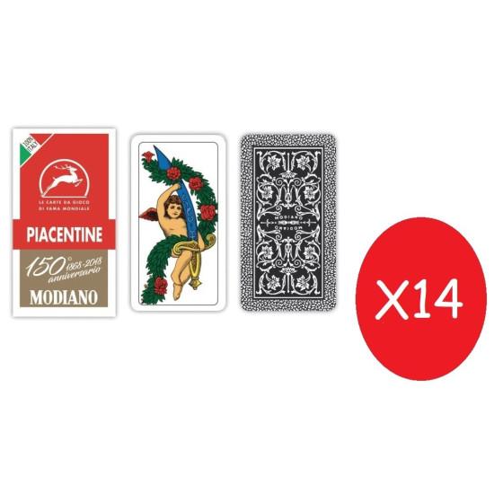 Modiano Carte da Gioco Piacentine 14 Pezzi Originale - 1