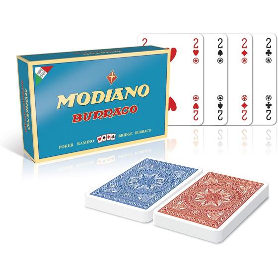 Set Carte Burraco Modiano - 1