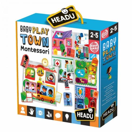 Baby Play Town Montessori Headu - 1