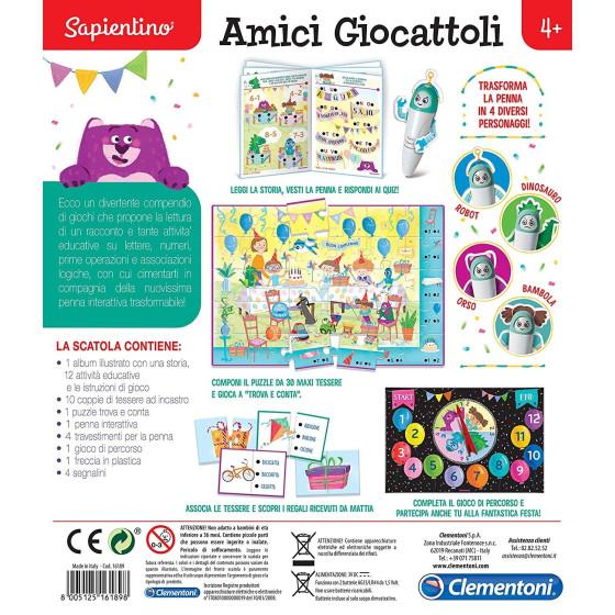 Sapientino 16189 Penna Amici Giocattoli Clementoni - 3
