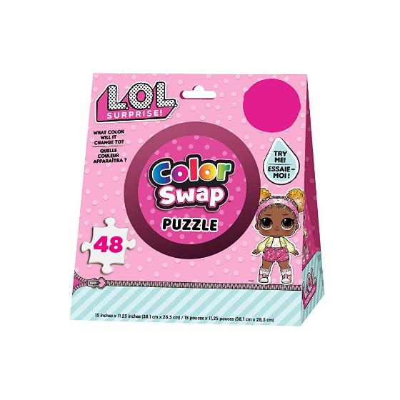 Puzzle Cambia Colore LOL Surprise 48 Pezzi 6053795 Spin Master - 1