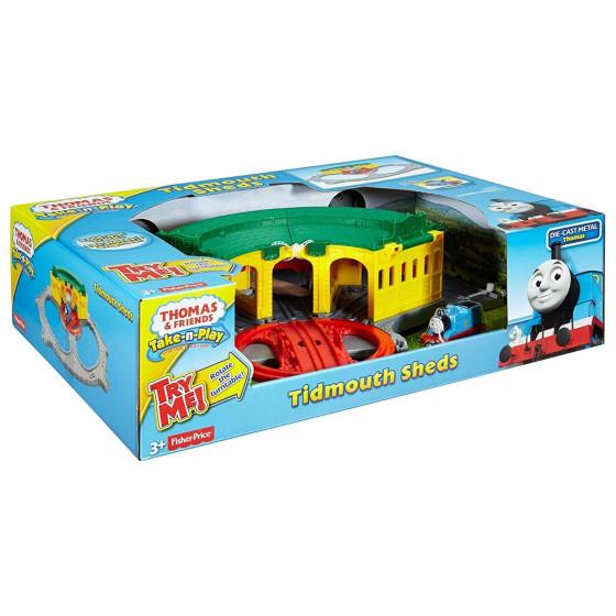 Trenino Thomas Playset Stazione Tidmouth DGK96 Fisher Price - 2
