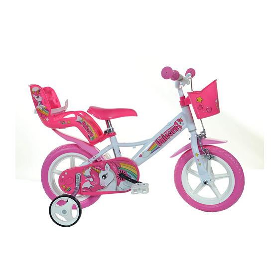"""Bicicletta Unicorno 12\"""" Dino Bikes - 1"""
