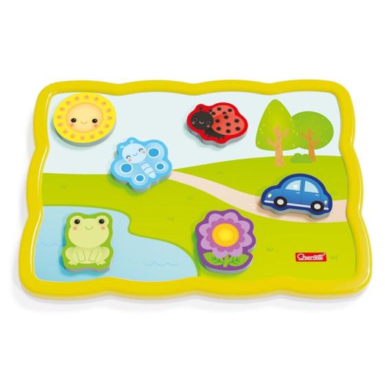 Quercetti Smart Puzzle Primi Colori e Parole Quercetti - 5