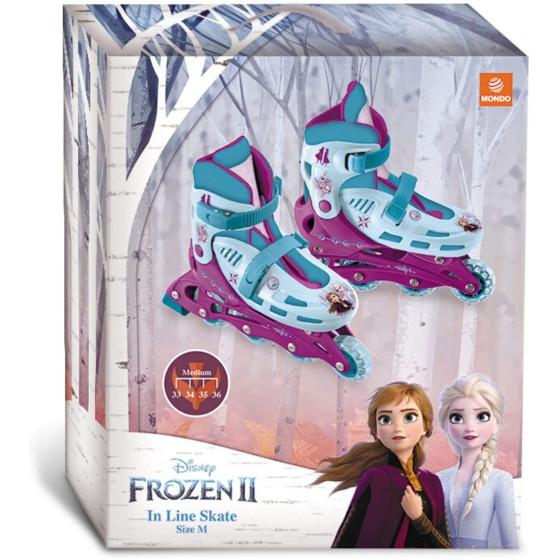 Pattini in Linea Frozen 2 33-36 Mondo - 3