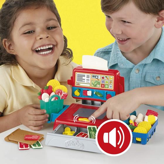 Play-doh registratore di cassa con accessori e suoni Hasbro European Trading Bv - 3