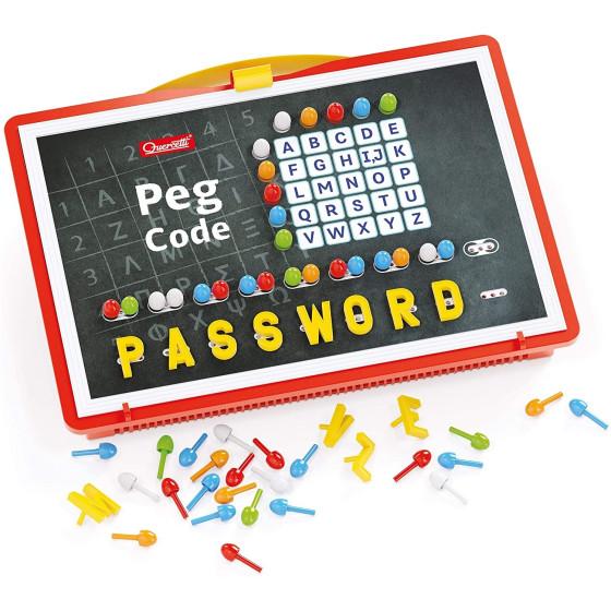 Peg Code chidoini e lettere 1002 Quercetti - 3