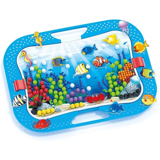 Fantacolor Ocean Fun Fish e Pegs 0969 Quercetti - 3