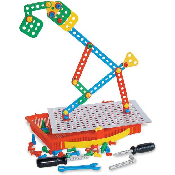 Tecno gioco costruzioni meccaniche 82 pezzi 0860 Quercetti - 4