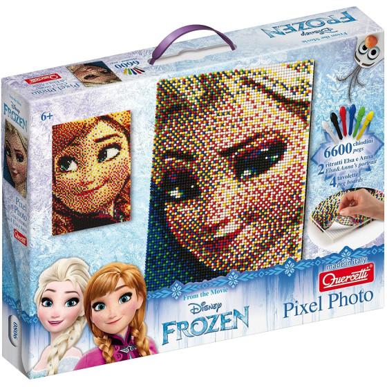 Pixel Art Frozen Puzzle Elsa/Anna 6600 pezzi 0806 Quercetti - 3
