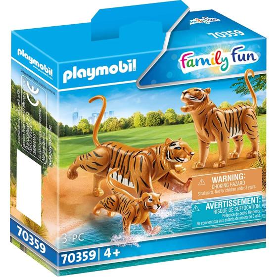 Playmobil 70359 - Famiglia di Tigri Playmobil - 1