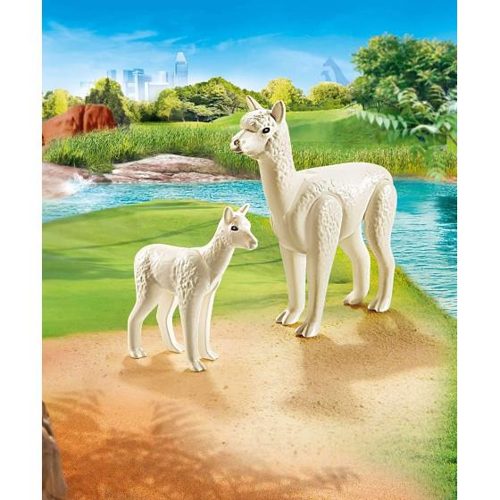 Playmobil Family Fun 70350 - Alpaca con Cucciolo  Playmobil - 1