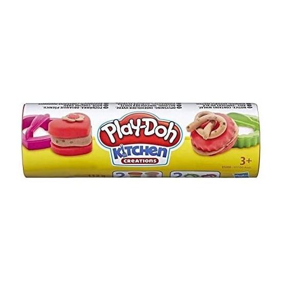 Play-Doh Tubo Biscottini Rosso e Marrone E5100EU4 Hasbro - 2