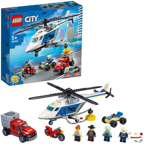 Lego City 60243 Inseguimento sull'elicottero Lego - 4