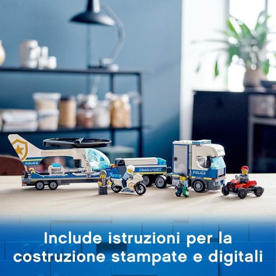 Lego City 60244 Trasportatore di Elicotteri della Polizia  Lego - 3
