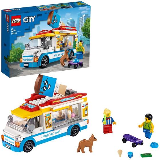 Lego City 60253 Furgone dei Gelati Lego - 2